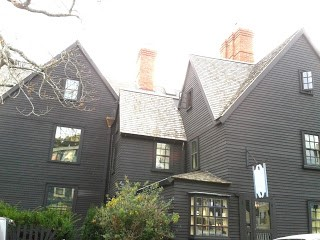 The House of the Seven Gables, Salem, MA, built in 1668.