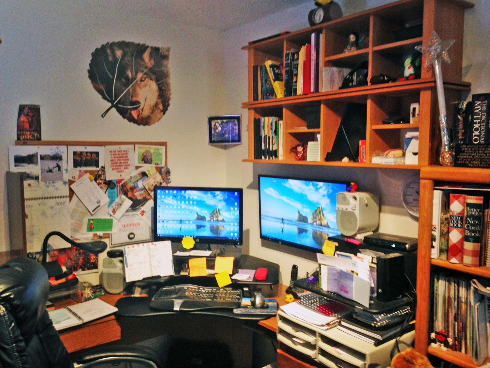 Tena's work cave