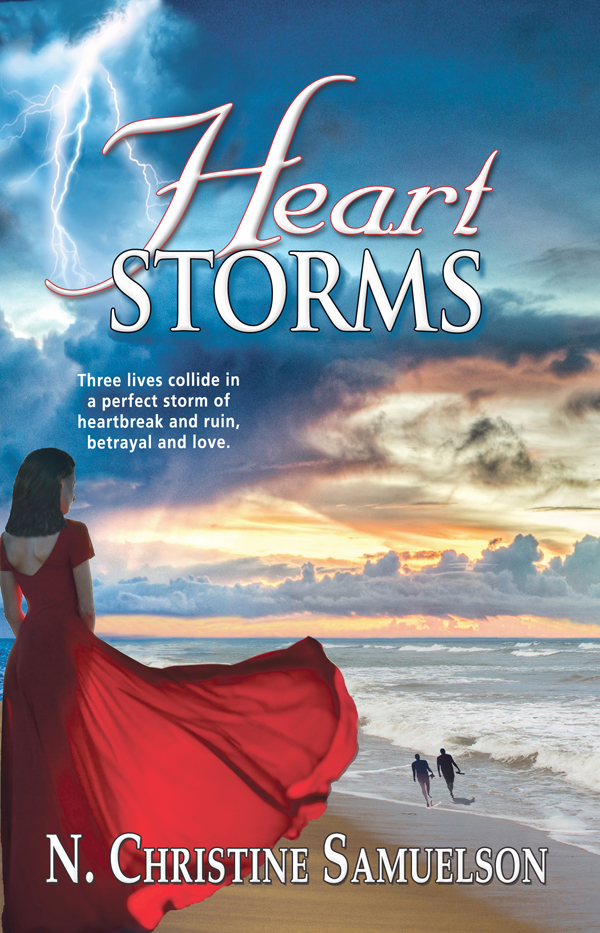 Heart Storms… - When three people's lives collide in a perfect storm of heartbreak and ruin, betrayal and love, will they be destroyed or transformed by their fate? One woman and two men are drawn to coastal South Carolina to an oceanfront Victorian B & B inn. Jade Armstrong is newly divorced and left with nothing by her treacherous ex-husband. Gabriel Montoro is reeling from a cheating wife. Rick Stirling owns the inn and has suffered a devastating personal loss. Through work and friendship, their inner conflicts extend to each other while vying for the need for survival, healing, attraction and love.None of them seek love or relationship, but as they move into and through the emotional storm of their lives, destiny brings them together in an extraordinary way. A charming oceanfront inn complete with mystical elements lifts the characters' spirits and helps them on their journeys. Their passionate triangle must be broken for them to move on with their lives, but who ends up with whom, or do they, and when?