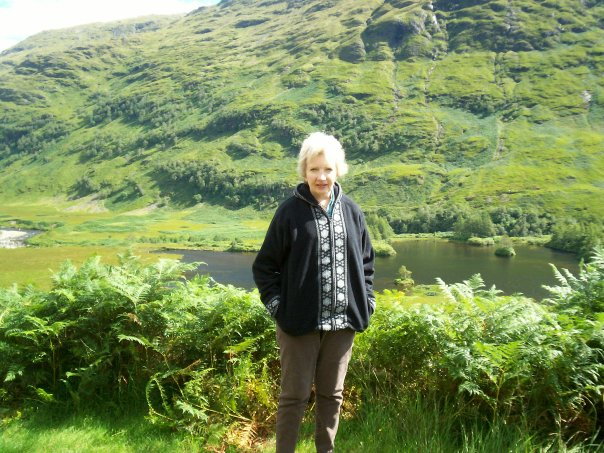 Inspiration for writing. Laura in Scotland.