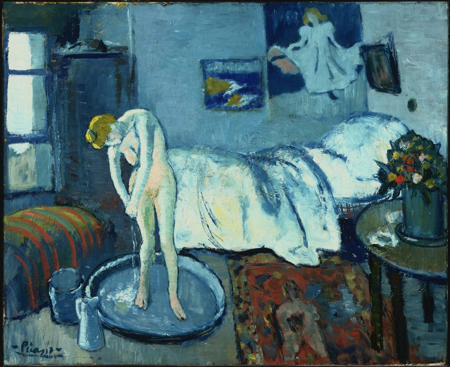 The Blue Room by Pablo Picasso