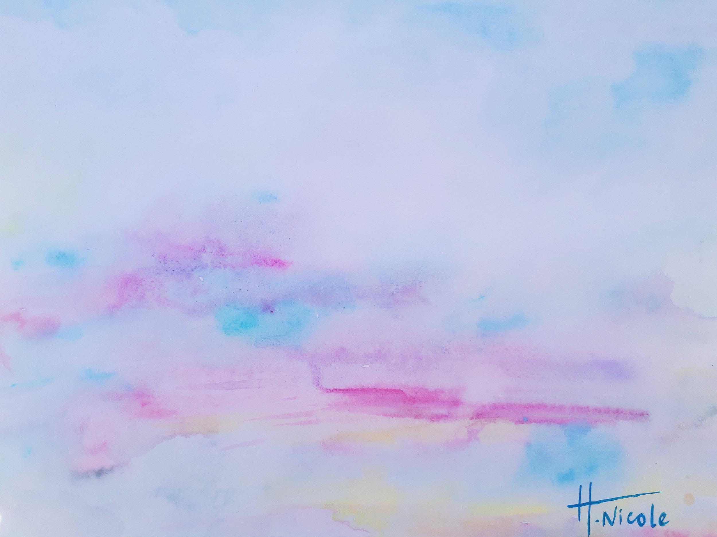 """Cloudless blue"""