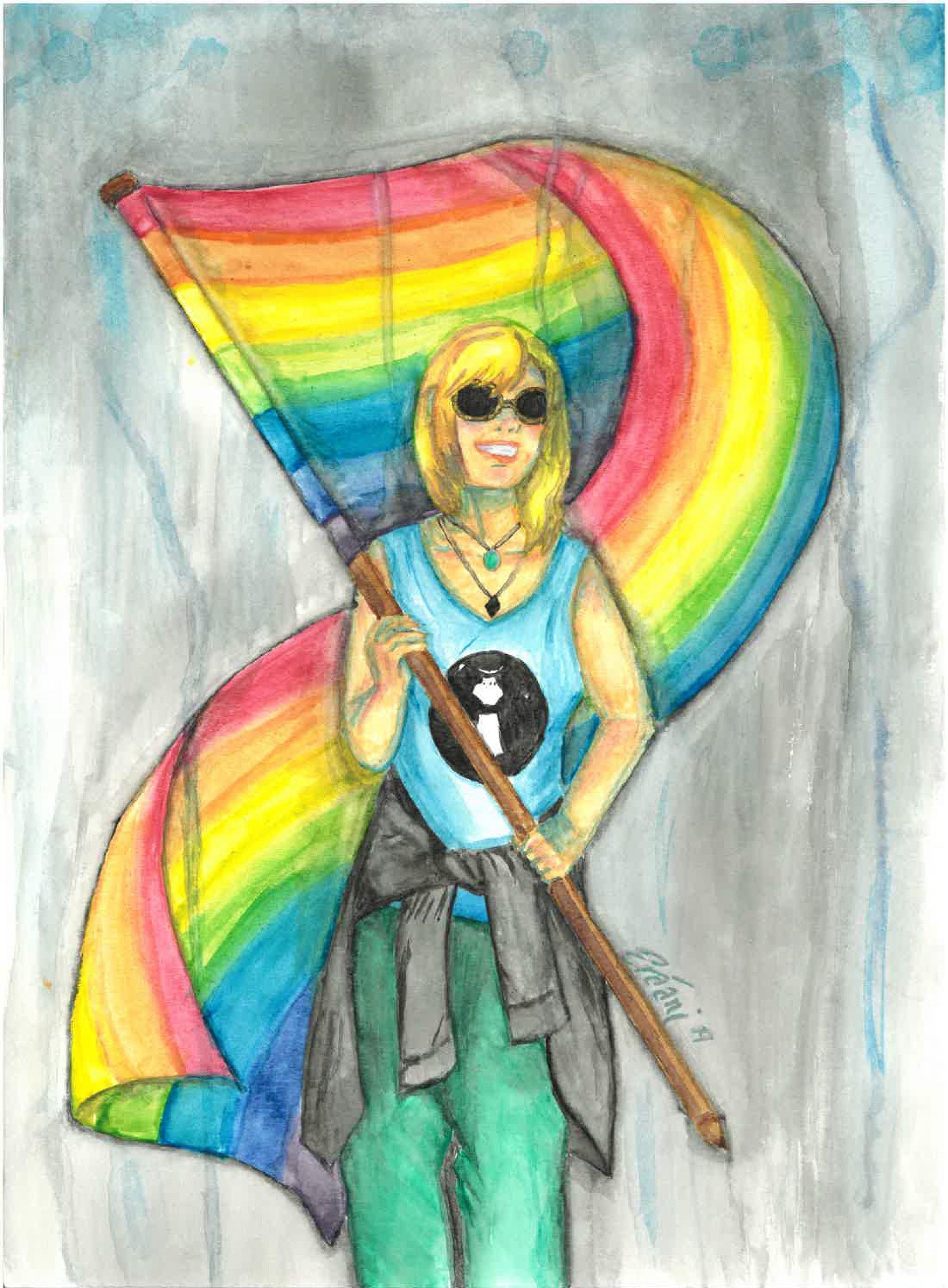 """Iris Goddess of the Rainbow"""