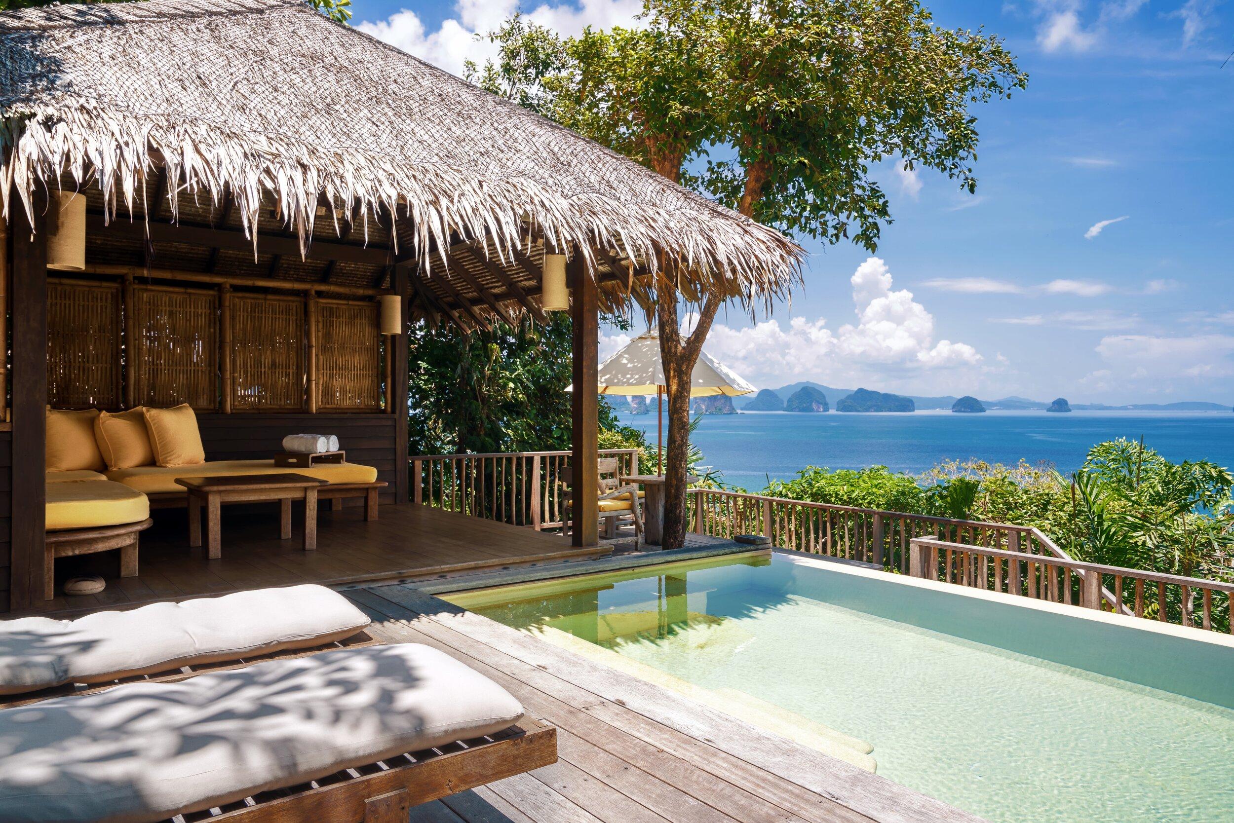 Ocean Pool Villa, Six Senses Yao Noi
