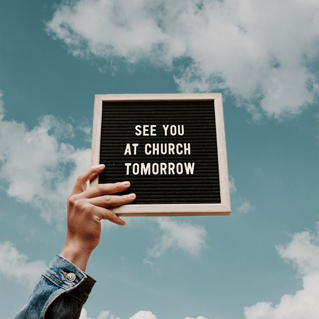 ⛪We are back upstairs tomorrow!⁠ See you soon!⁠ . ⁠ . ⁠ Ballroom A/Tinkham Veale/10AM