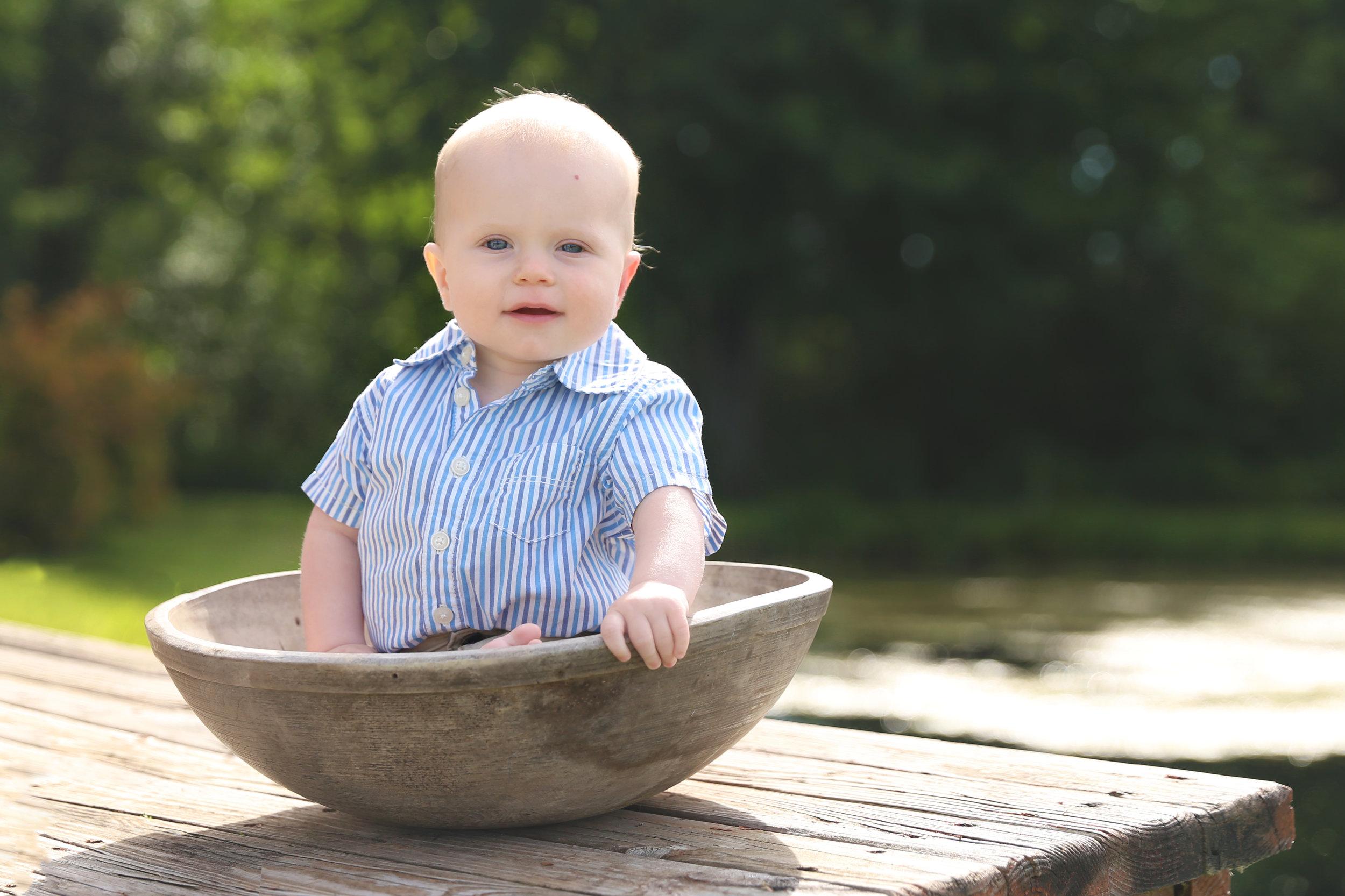 Springville, NY Baby Photographer