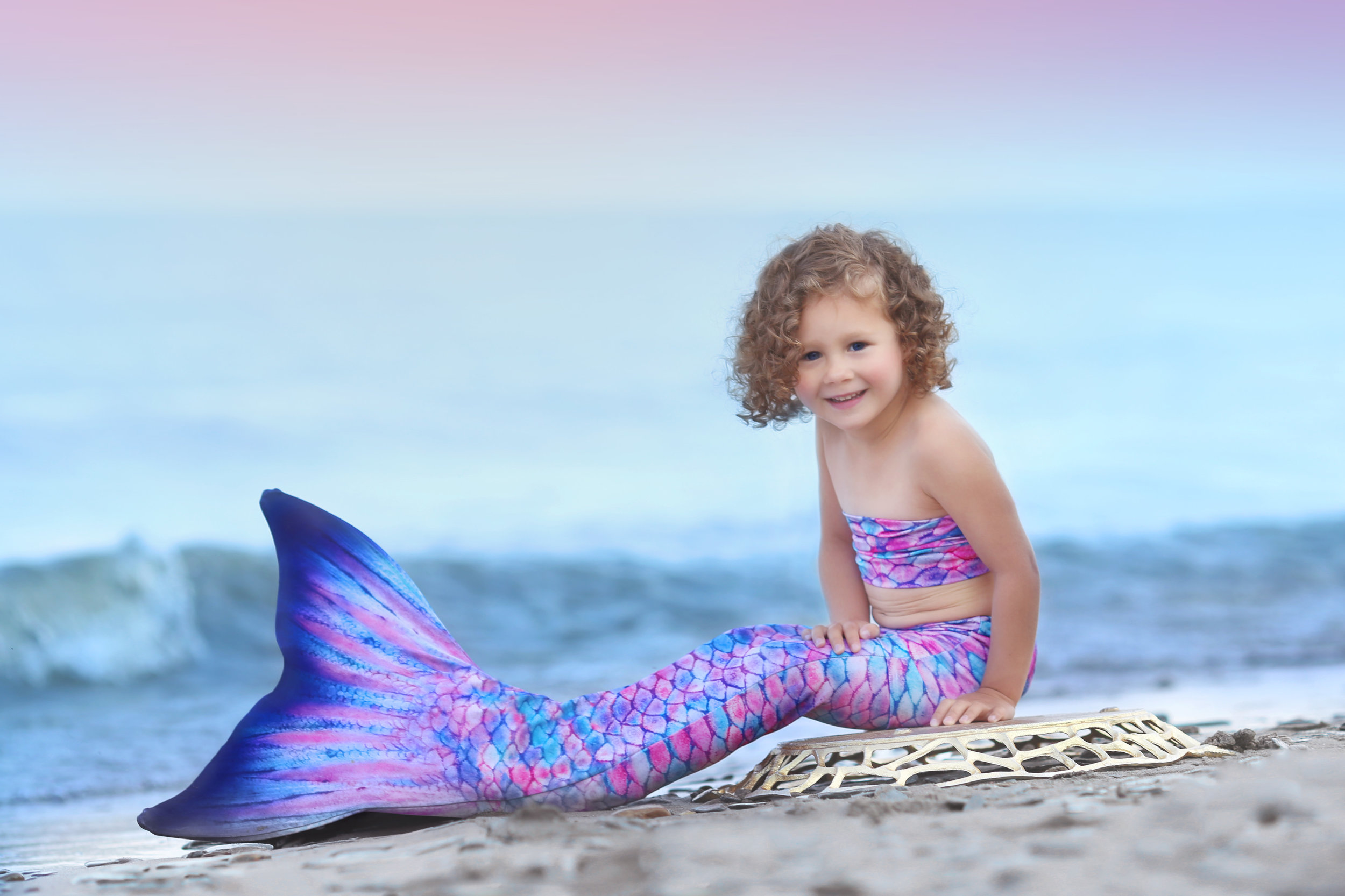 Buffalo, NY Child Mermaid Photographer