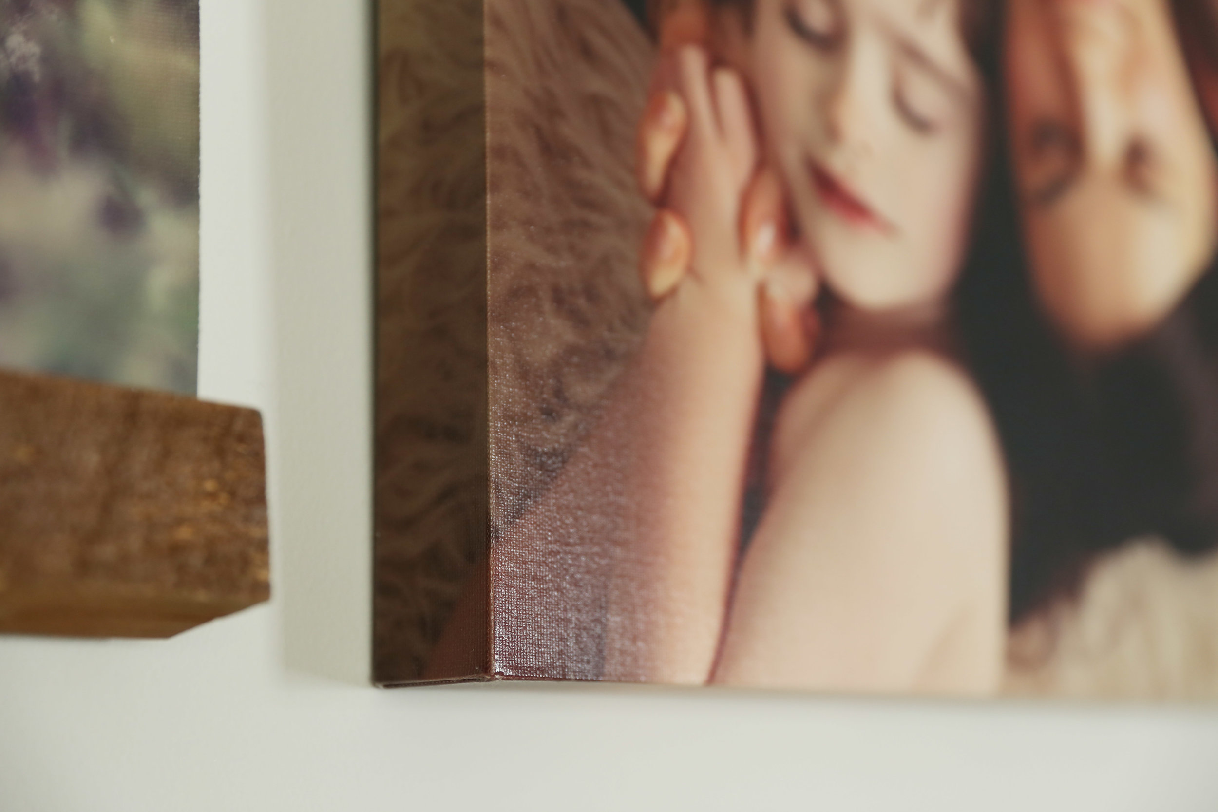 "Gallery Canvas - Your image printed on canvas and stretched around a solid 1.5"" block."