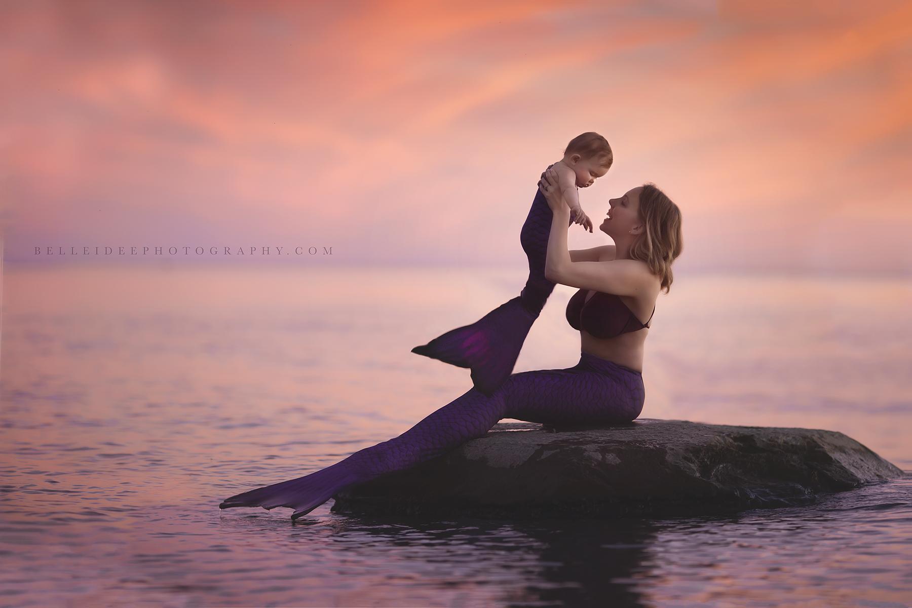 buffalo ny best mermaid child photographer