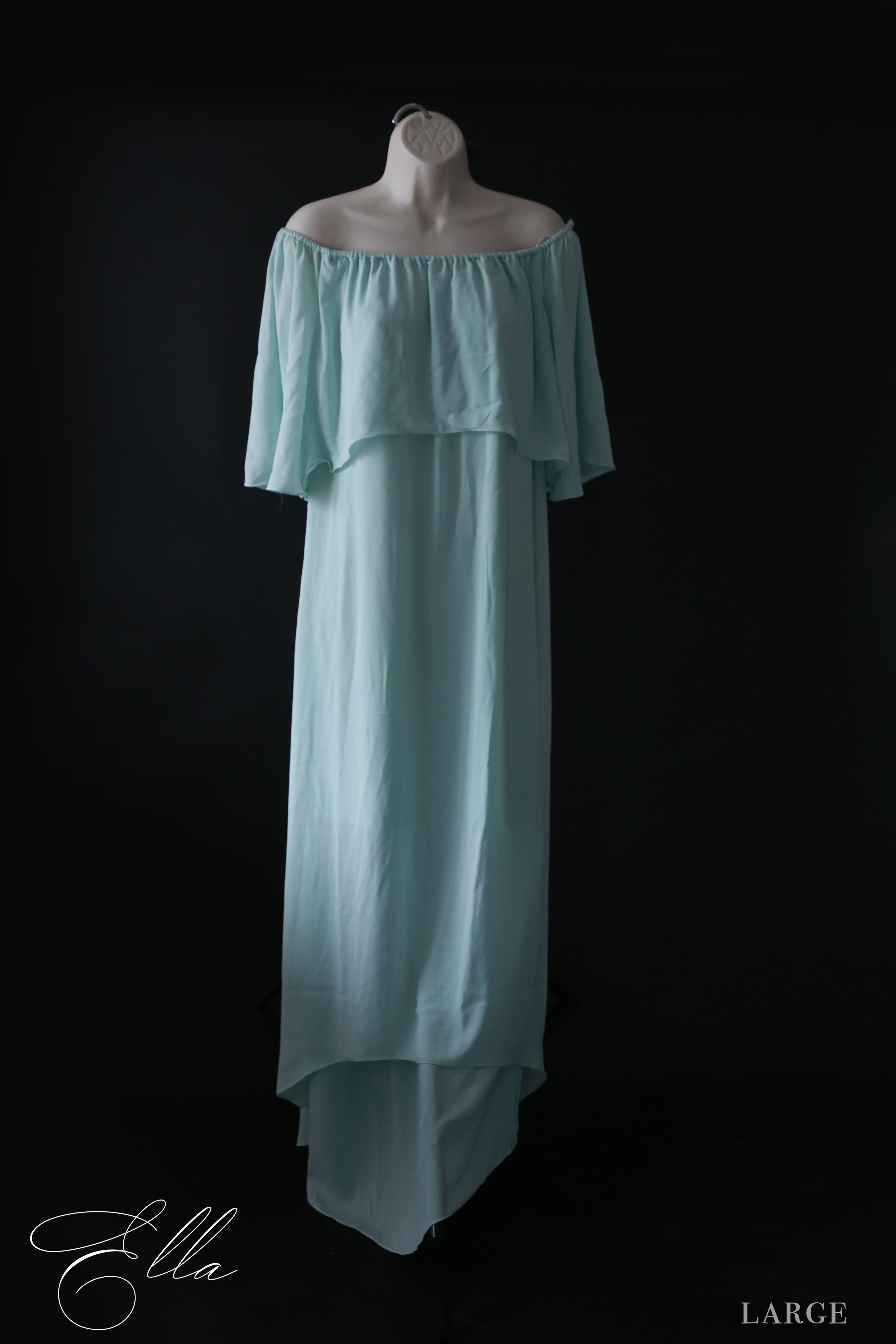 Ella - LargeLoose, flowy fit. Great for maternity, new mom, or just any mom wanting a a loose and carefree feel.