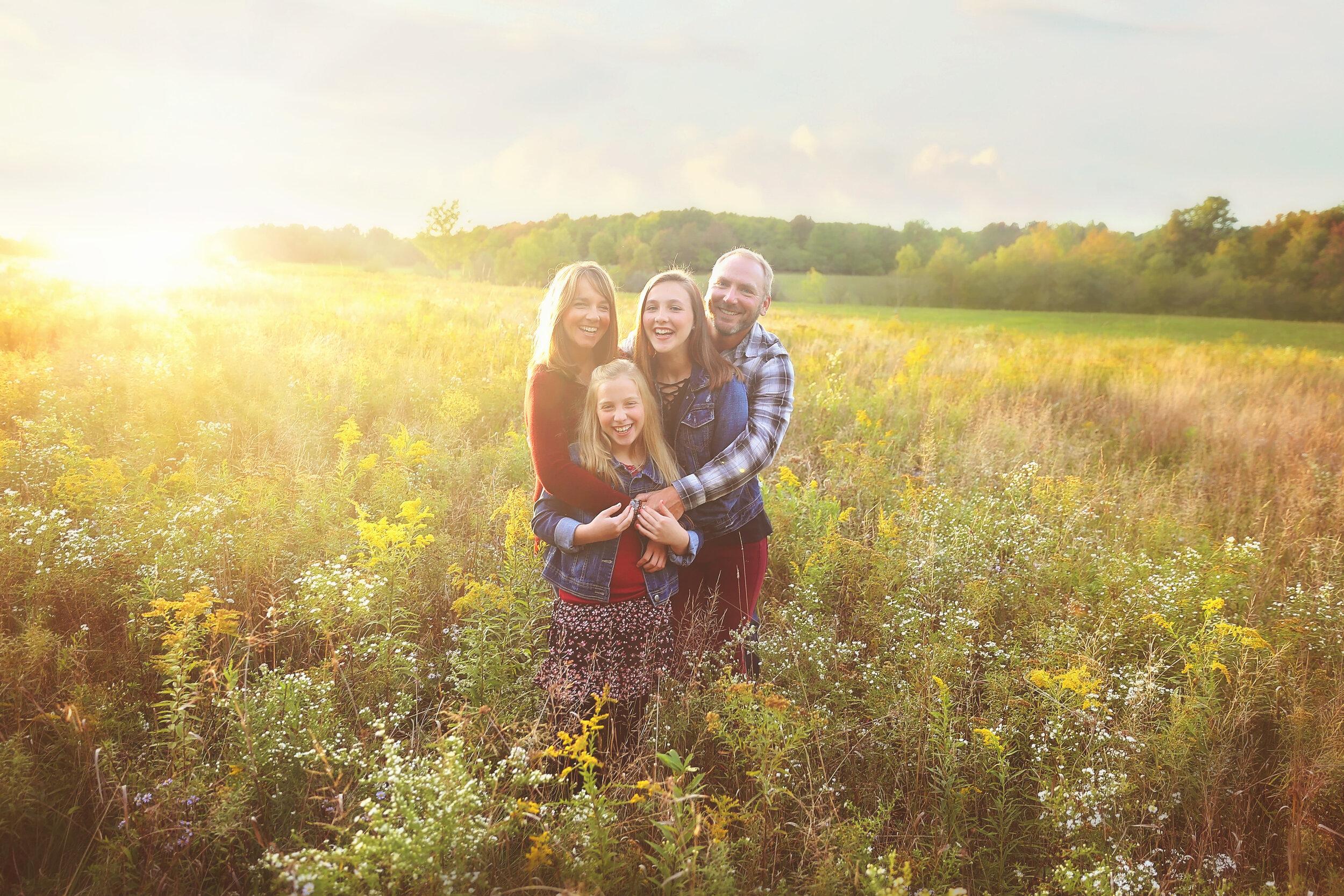 hamburg, ny family photo session