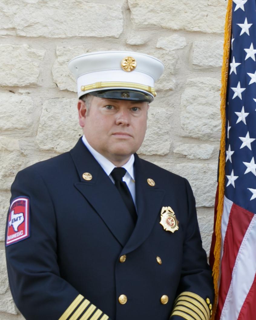 Scott Collard Fire Chief