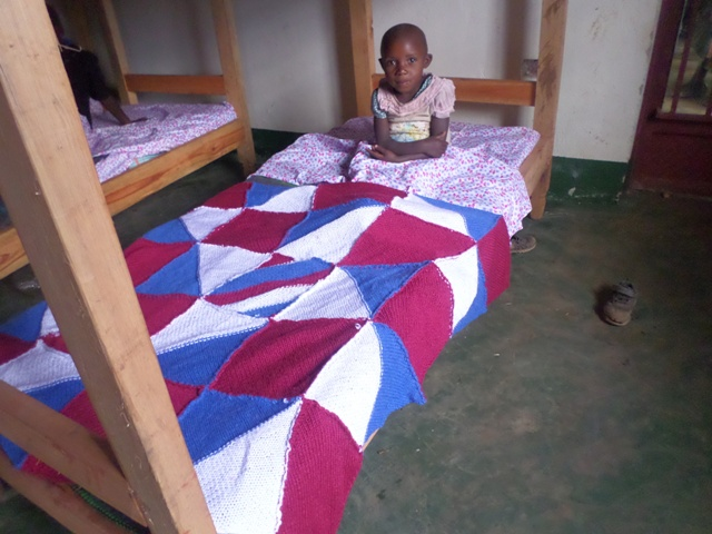 The temperatures at night drop down into the low 40's and upper 30's. It is important for our children to be up off of the ground and to have proper bedding.