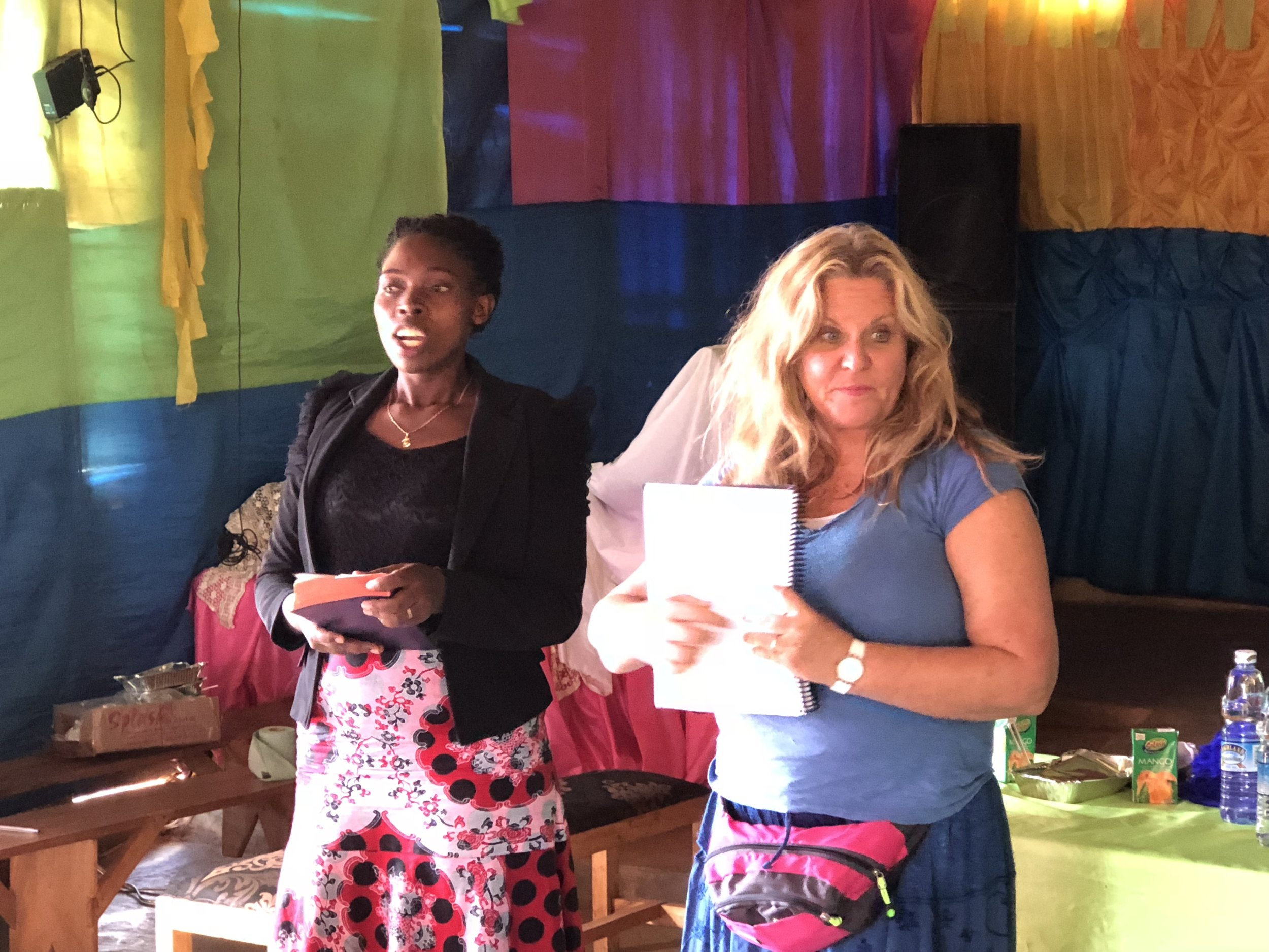 Melissa Heiland, of Beautiful Feet International, trained our volunteers in November 2017. Masiiko Pregnancy Care Center is now in full operation.