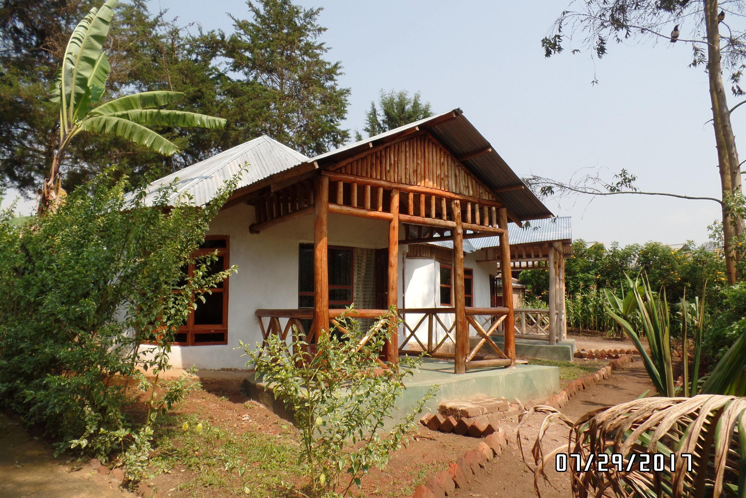 Gorilla Lodge in Rubuguri is where we set up camp.