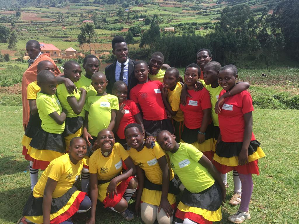 Seeds of Hope Children's Choir from our future Seeds of Hope Boarding School in Nyanamo.