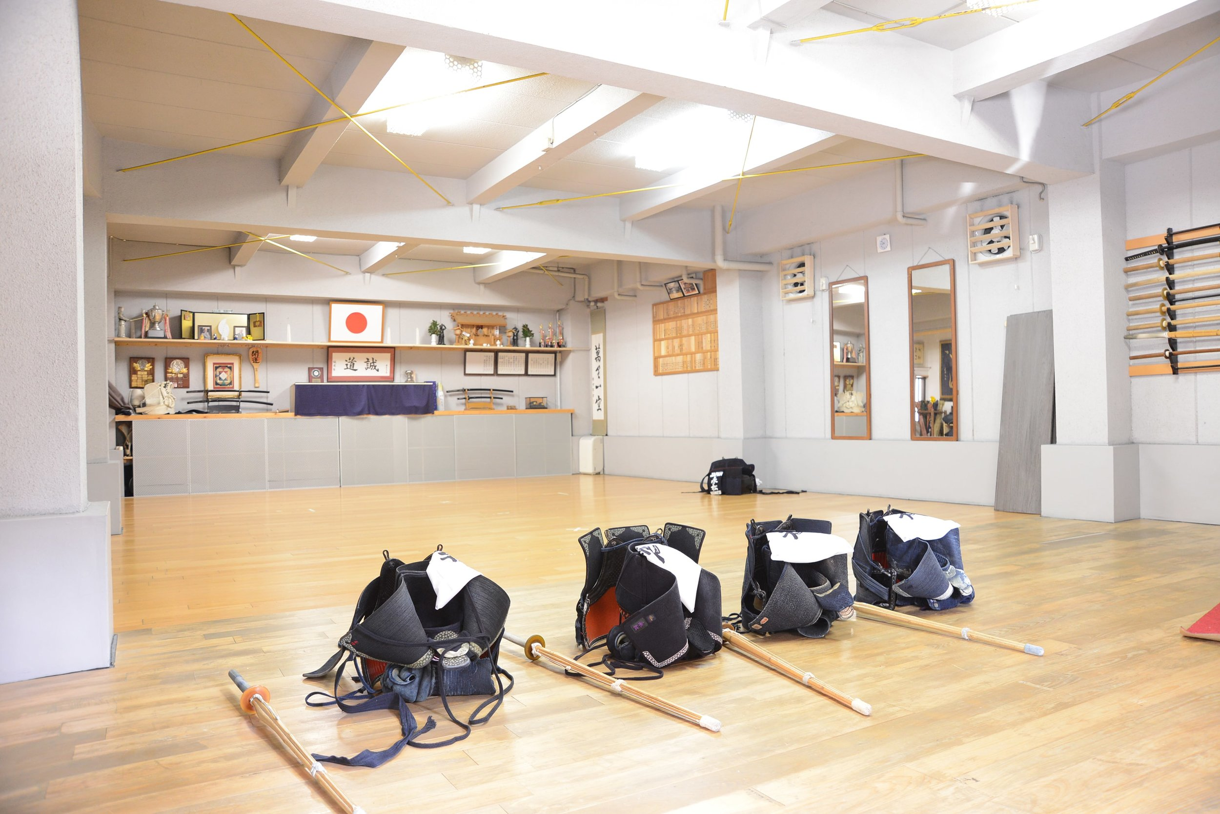 Storage and maintenance of  bogu  are universal tasks for all kendo athletes.