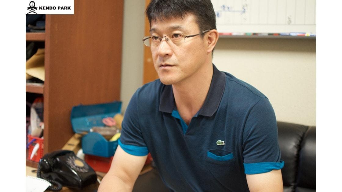 Takahiro Nabeyama(Supervisor of the University of Tsukuba's Men's Kendo Club)