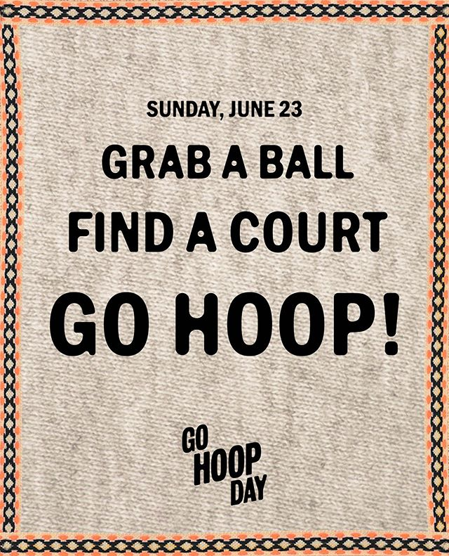ONE. 👏 WEEK. 👏 AWAY. 👏 It's pretty simple; 1️⃣ Grab a ball 2️⃣ Find a court 3️⃣ Go Hoop #TheGameLovesYou