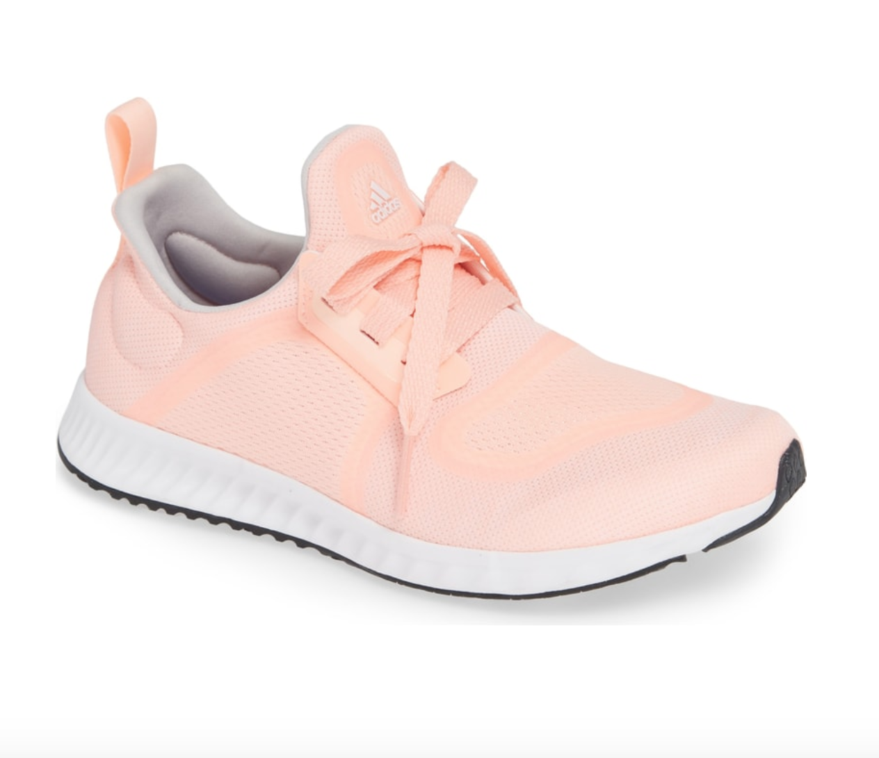 Adidas Edge Lux Clima Running Shoe - I seem to grab a pair of tennis shoes over a cute flat any day and these pink ones are great to add a little pop of color to a normally all black and grey outfit. They also come in grey if you're not a pink person.BUY HERE