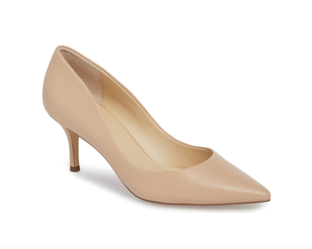 Addie Pump By Charles David - A nude heel is perfect any season and these are no exception. The kitten heel makes them easy to wear all day and the pointy toe dresses them up. These run a half size too large so order down.BUY HERE