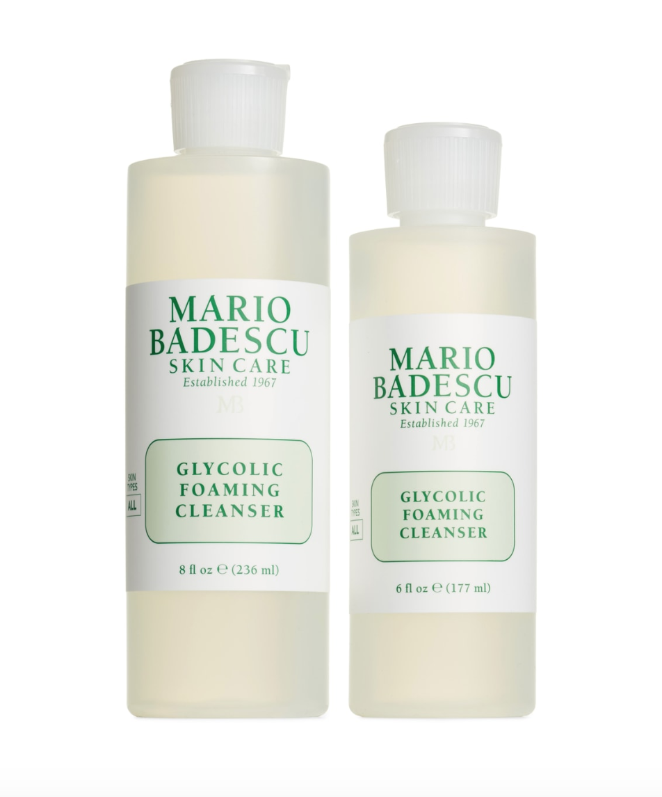 Mario Badescu Glycolic Foaming Cleanser - This face wash is one that I reach for almost daily. It takes off the grime and dead skin to reveal a clean and fresh face. I love it and because I use it so often, stock up on it whenever it goes on sale.BUY HERE