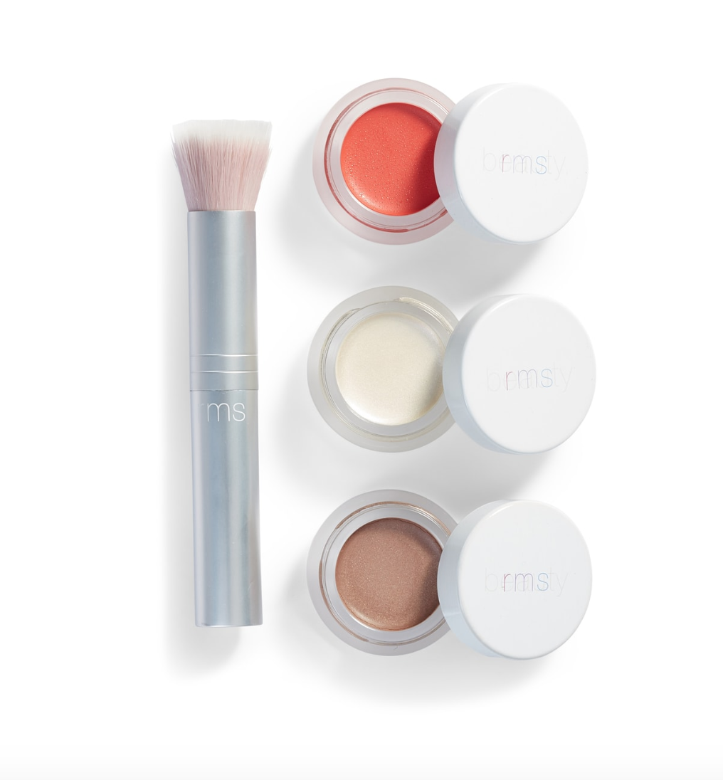 RMS Beauty Glowing Set  - I love RMS products and usually use the travel compact with small versions of these products and I love the lit from within glow they give and the good for your skin ingredients they are made with.They're my favorite no-makeup, clean makeup products!BUY HERE