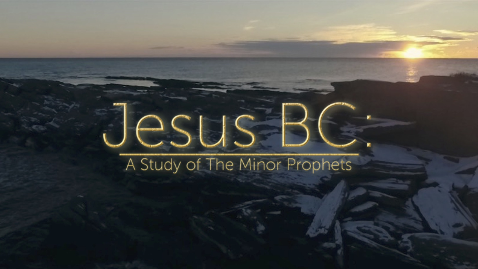 The entire Bible is centered on Christ. This is our study through the Minor Prophets.