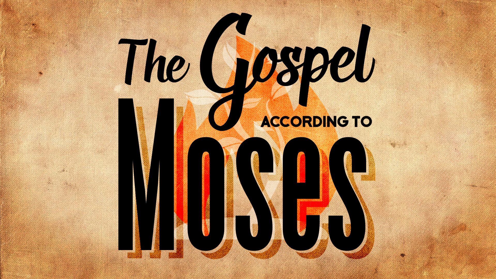 Summer 2015: God has been telling a story since the beginning. Part of His story includes an amazing individual names Moses…but the story is really all about Jesus. Moses is meant to point to the Great Savior!