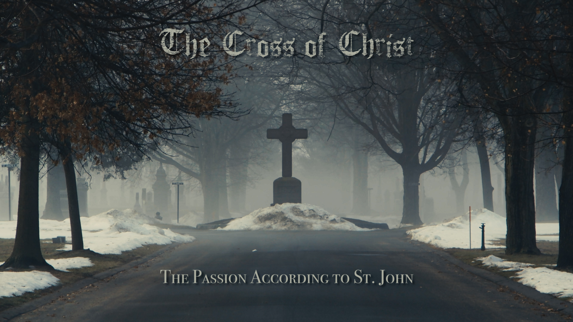 A sermon series considering The Passion according to Saint John (Chapters 18-19)