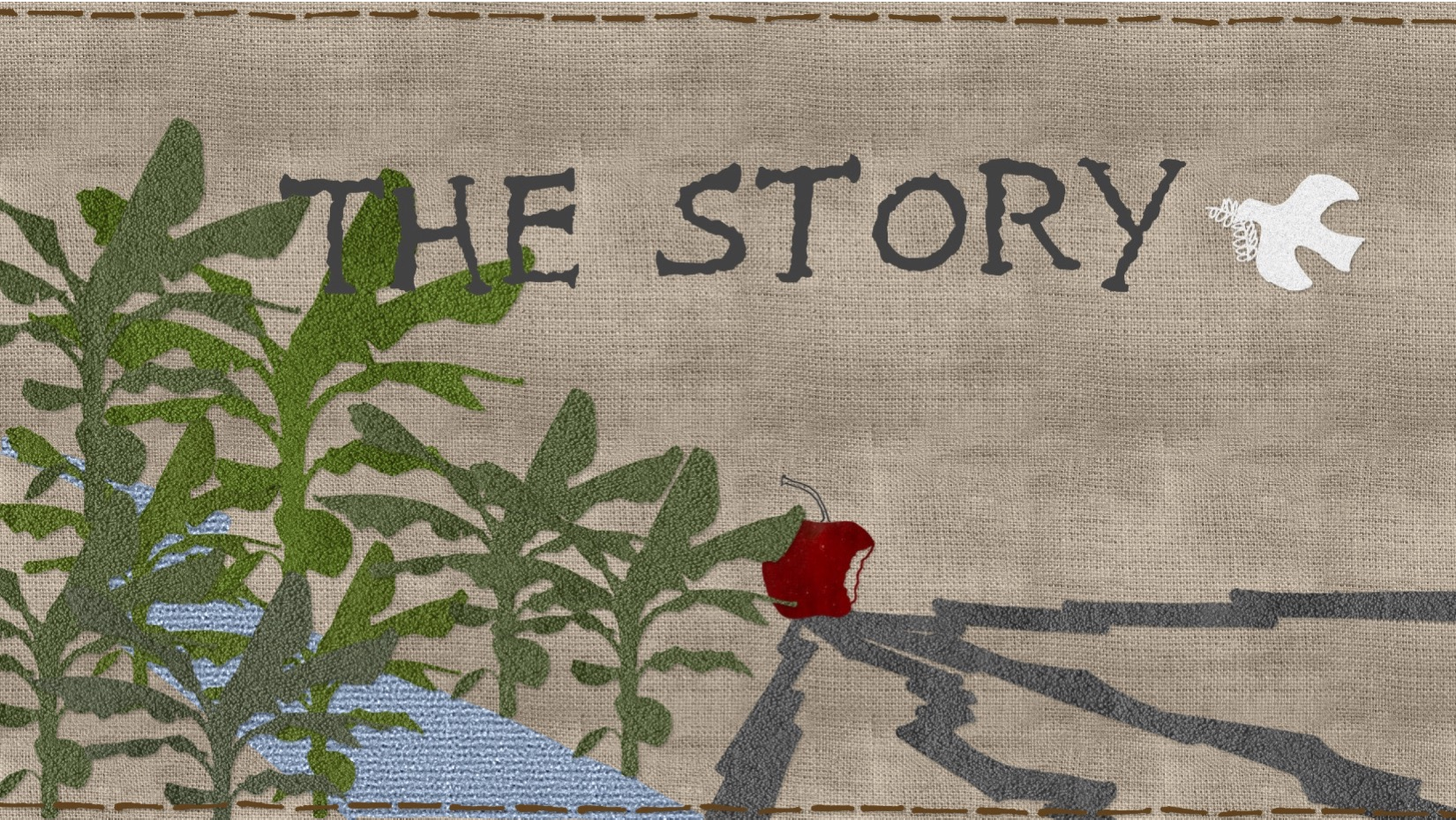 The Bible is much more than a collection of various, unrelated stories. Together, each story in the Bible make up a larger story, The Story of God