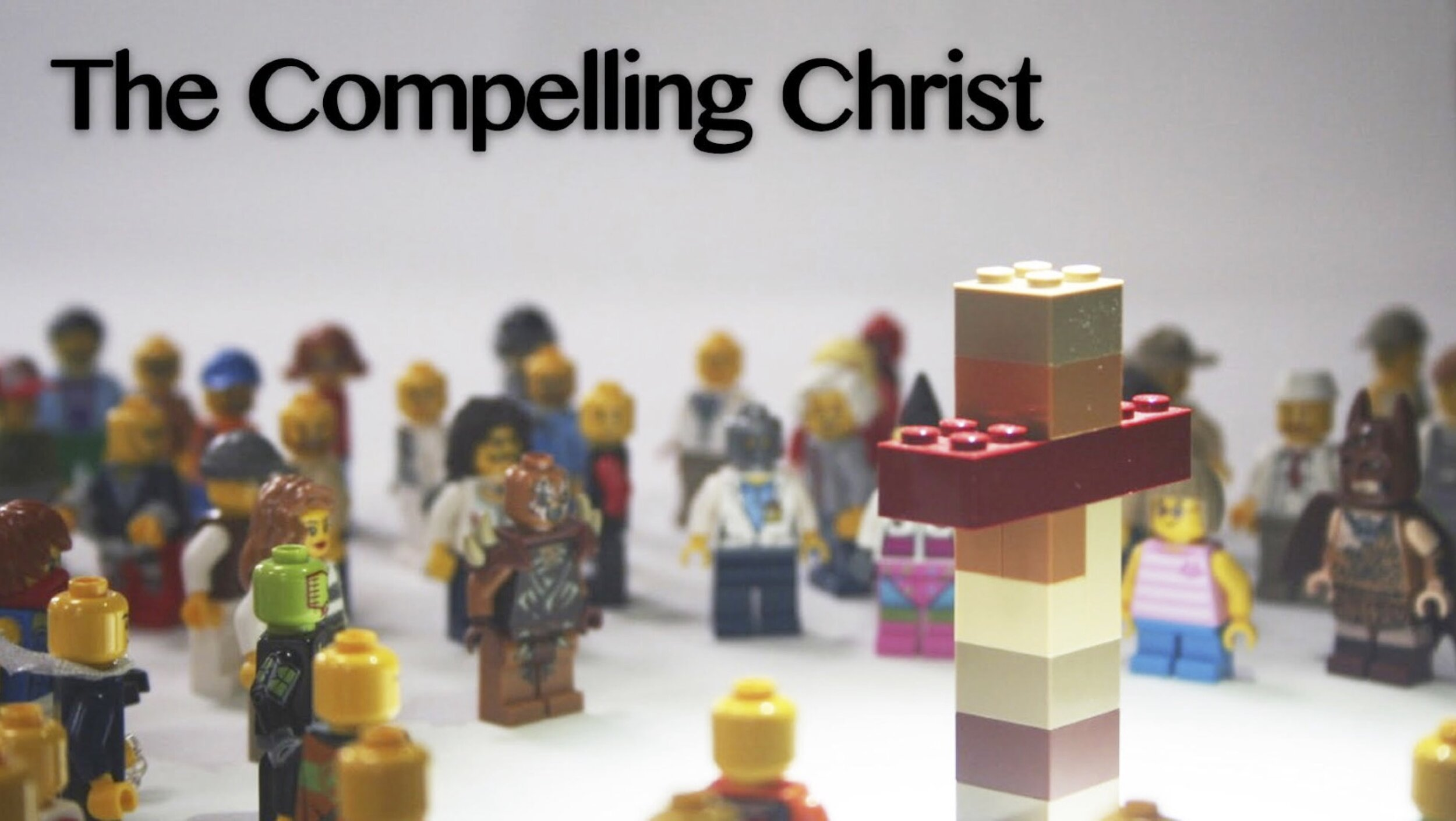 How is JESUS compelling and how is Jesus COMPELLING?