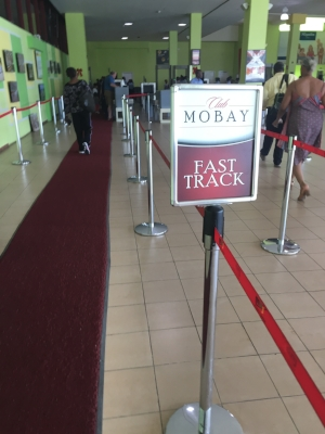 Mobay Fast Track Line--With Red Carpet!