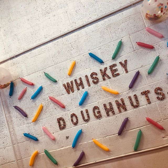 Happy #NationalDoughnutDay!! I'm still stuffed from @whiskeydoughnuts last weekend 🤤