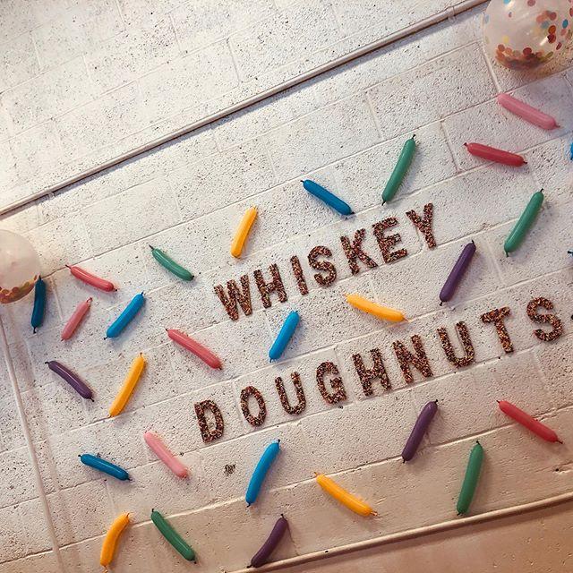 Happy #NationalDoughnutDay!! I'm still stuffed from @whiskeydoughnuts last weekend 🤤