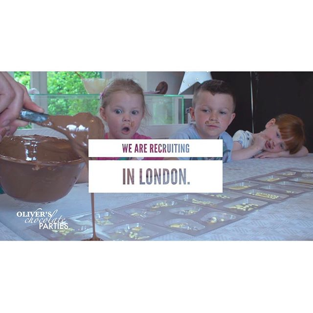 Ladies and gentlemen, who would like to work for Oliver's Chocolate Parties in and around London? - We are receiving lots of enquiries and need to recruit more staff for well paid part time work asap! - Please share! - www.oliverschocolateparties.co.uk - #london #jobs #recruiting #parttimework #love #chocolate #work #business #opportunity
