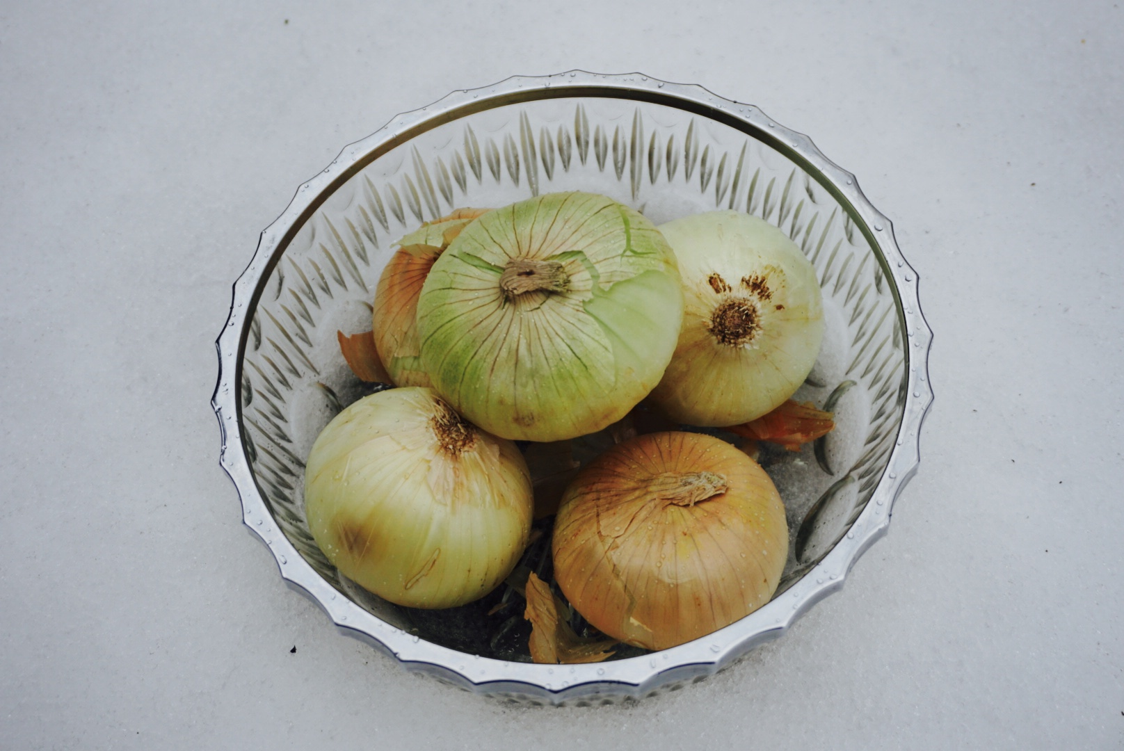 Onions. They are tough to peel, they make you cry, and they taste bad on their own.