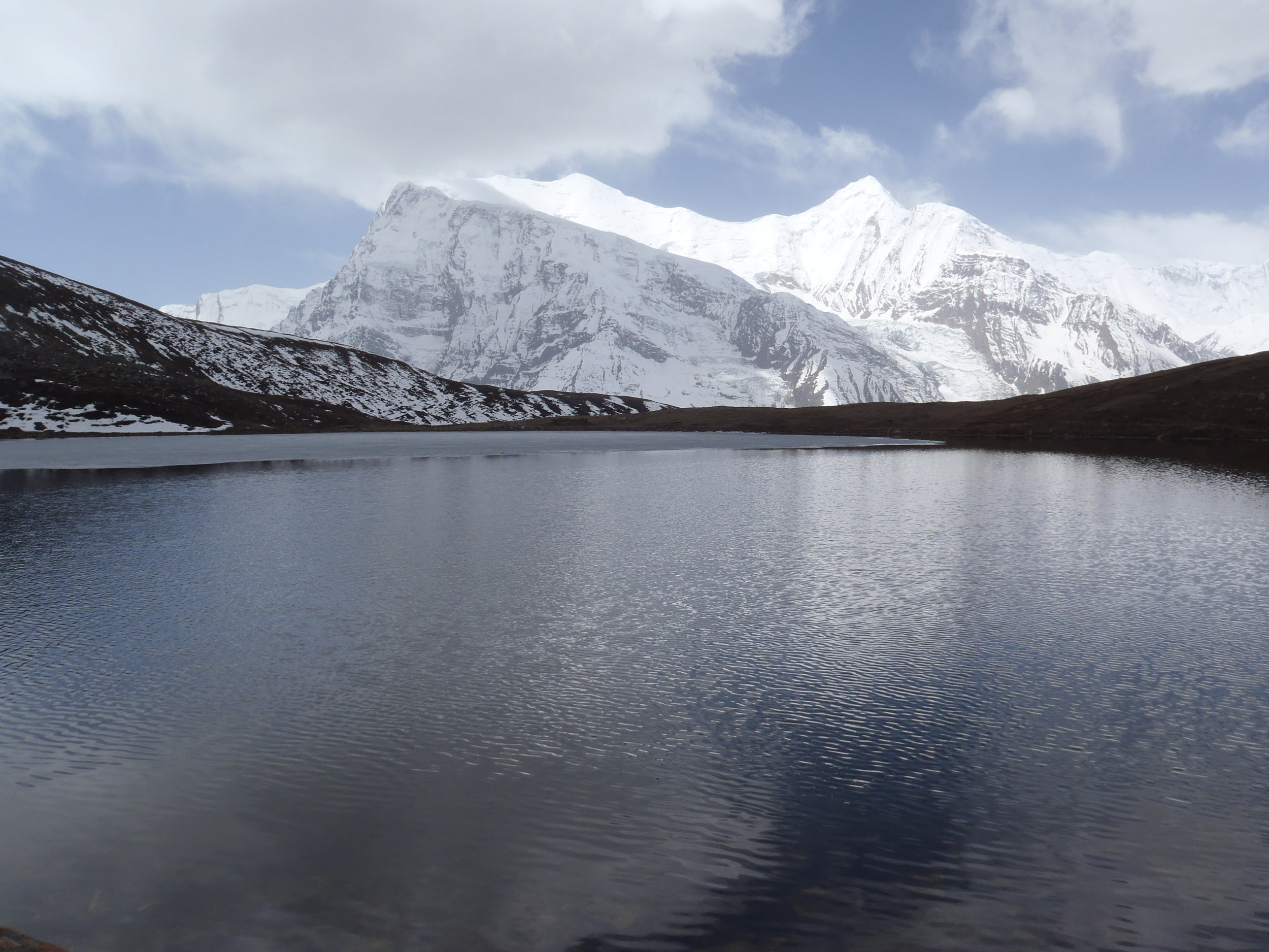 The magnificent Ice Lake (4620m).