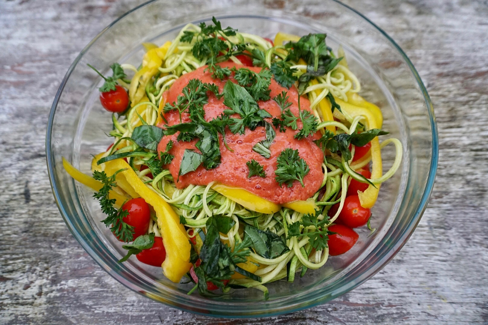 Tomato Zoodle!