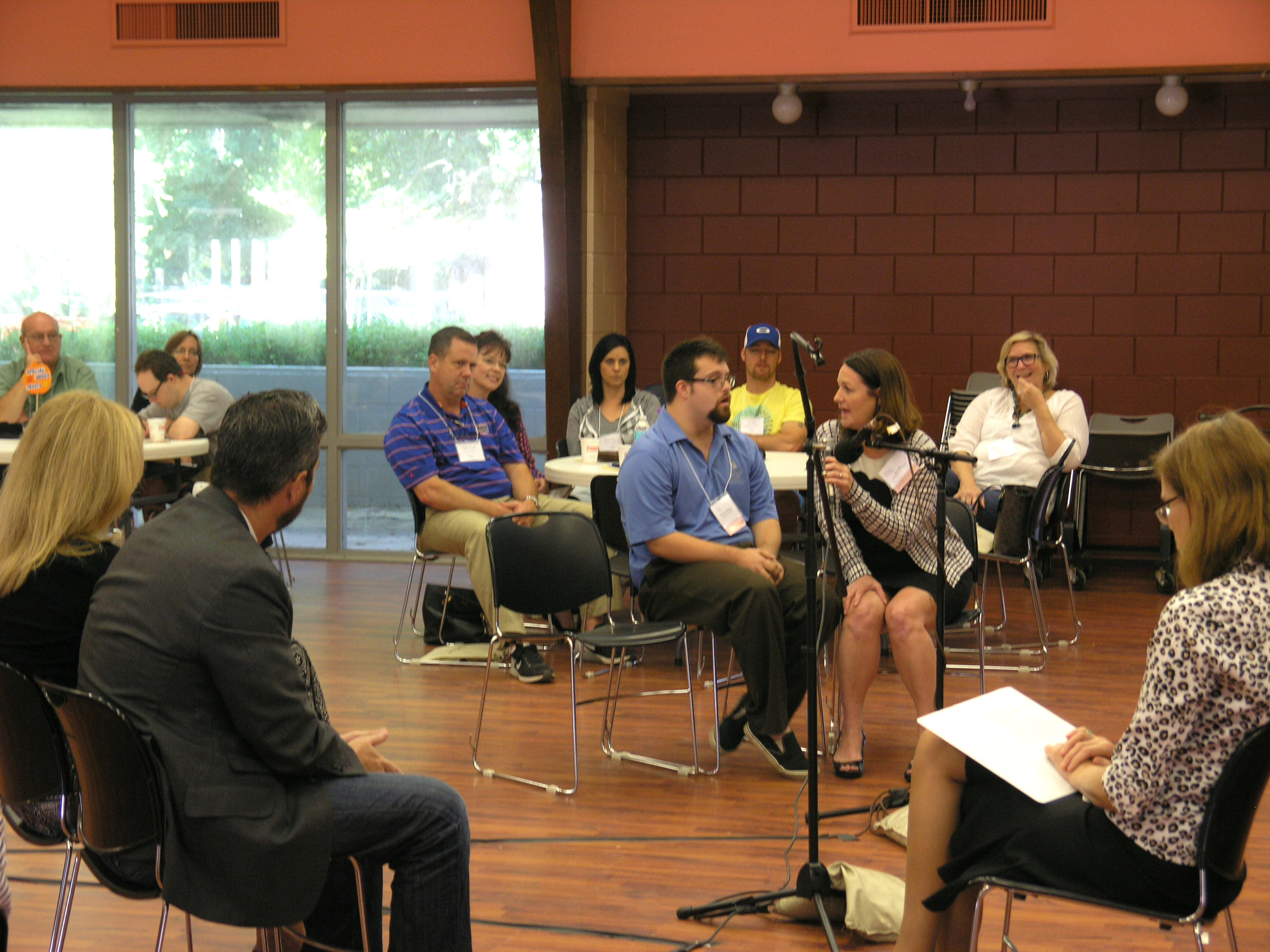Central Florida Attorneys conduct a Mock Guardianship Hearing to explain the process to families.