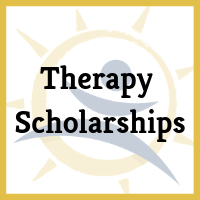 We know access to therapy may make the difference for a productive and independent future for your loved one with Down syndrome. Therapy Scholarships include speech and language, PT, OT, behavior and more!