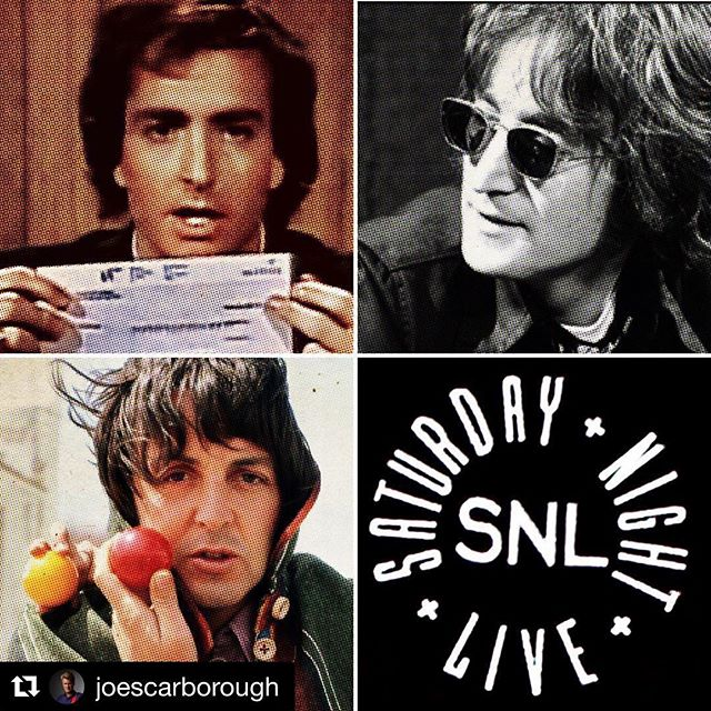 "If only...sigh. @kbehrensmeyer @christopher_bayer  #Repost @joescarborough with @get_repost ・・・ On this day in 1976, @nbcsnl's Lorne Michaels tried to do what no other person had ever done before—reunite the Beatles. The world's greatest band had turned down stupendous offers to play together again. Michaels was undeterred. ""If it's money you want, there's no problem here. The National Broadcasting Company has authorized me to offer you this check to be on our show. A certified check for $3,000. All you have to do is sing three Beatles songs. 'She Loves You,' yeah, yeah, yeah -- that's $1,000 right there. You know the words. It'll be easy. Like I said, this is made out to 'The Beatles.' You divide it anyway you want. If you want to give Ringo less, that's up to you. I'd rather not get involved."" Later fans would learn that John and Paul were watching together in New York and almost accepted the offer on a lark."