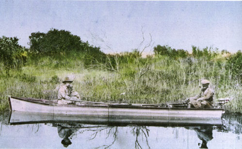 Paul Kroegel and George Nelson protected wildlife in the Indian River during the early part of the 1900s.