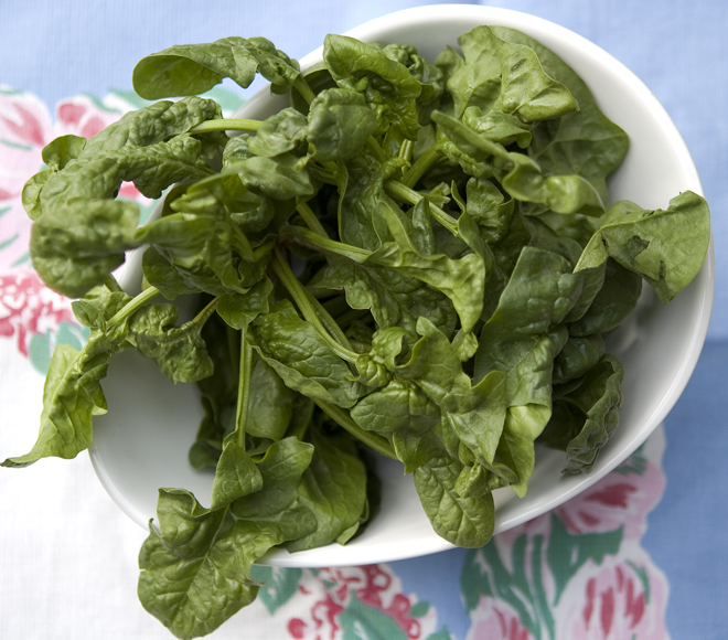 spinach - bowl
