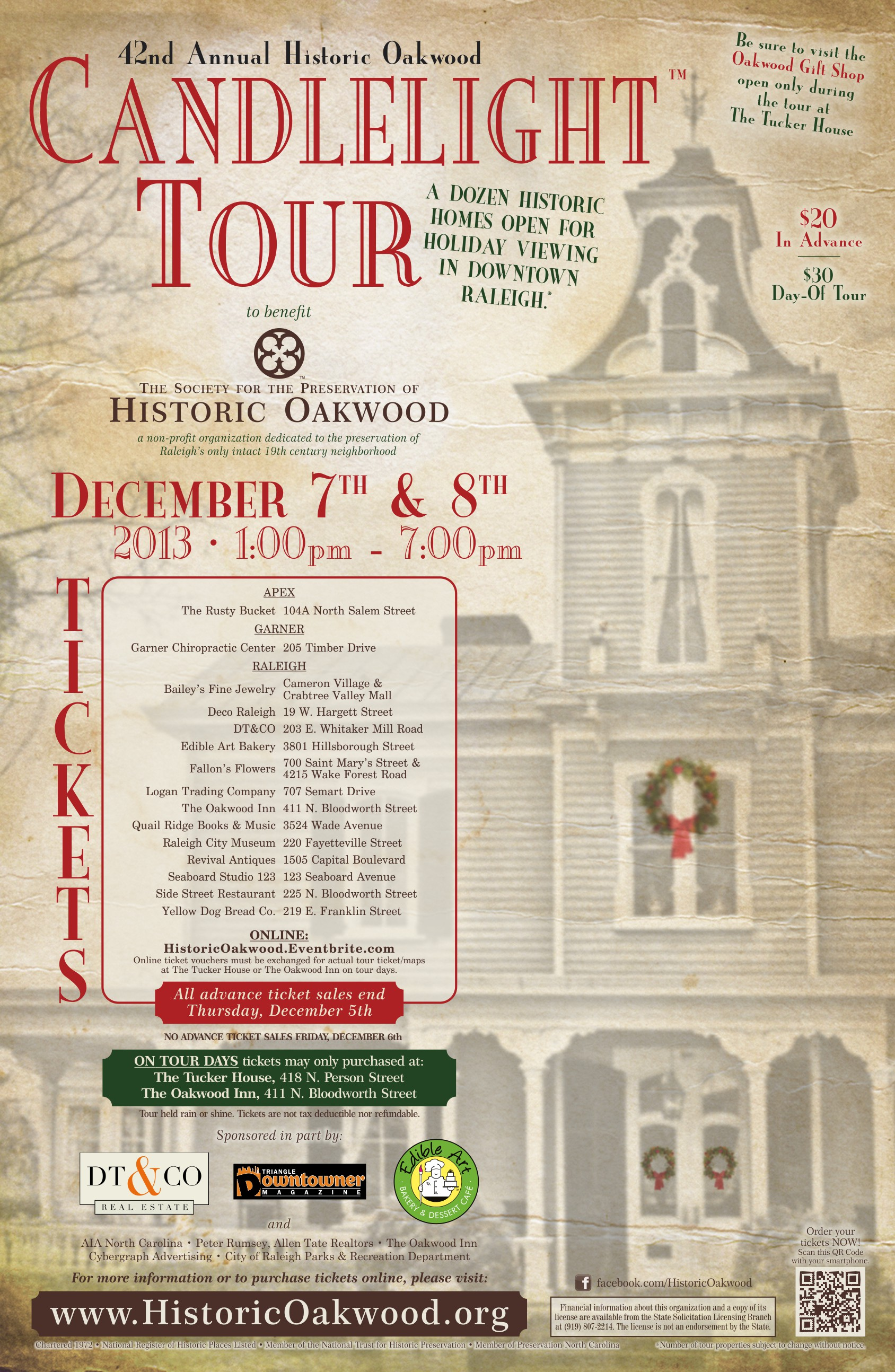 2013 Tour Poster