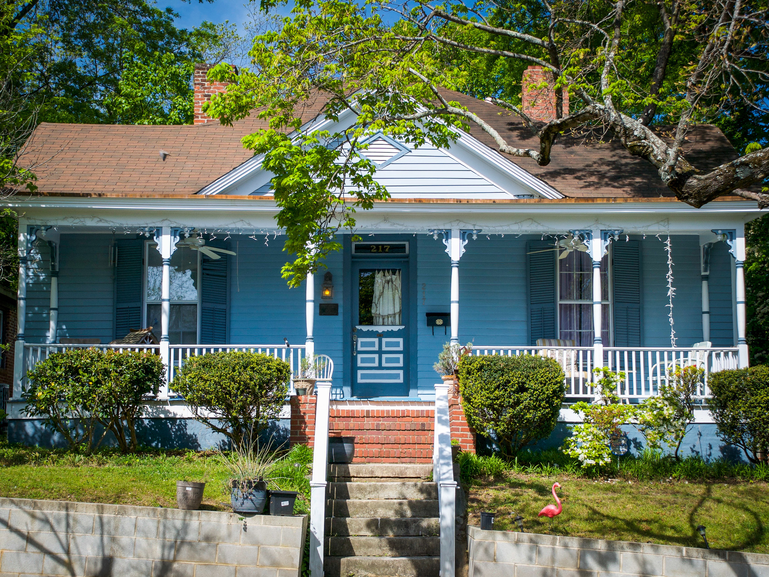 217 Linden Avenue - Purchased and renovated by the SPHO