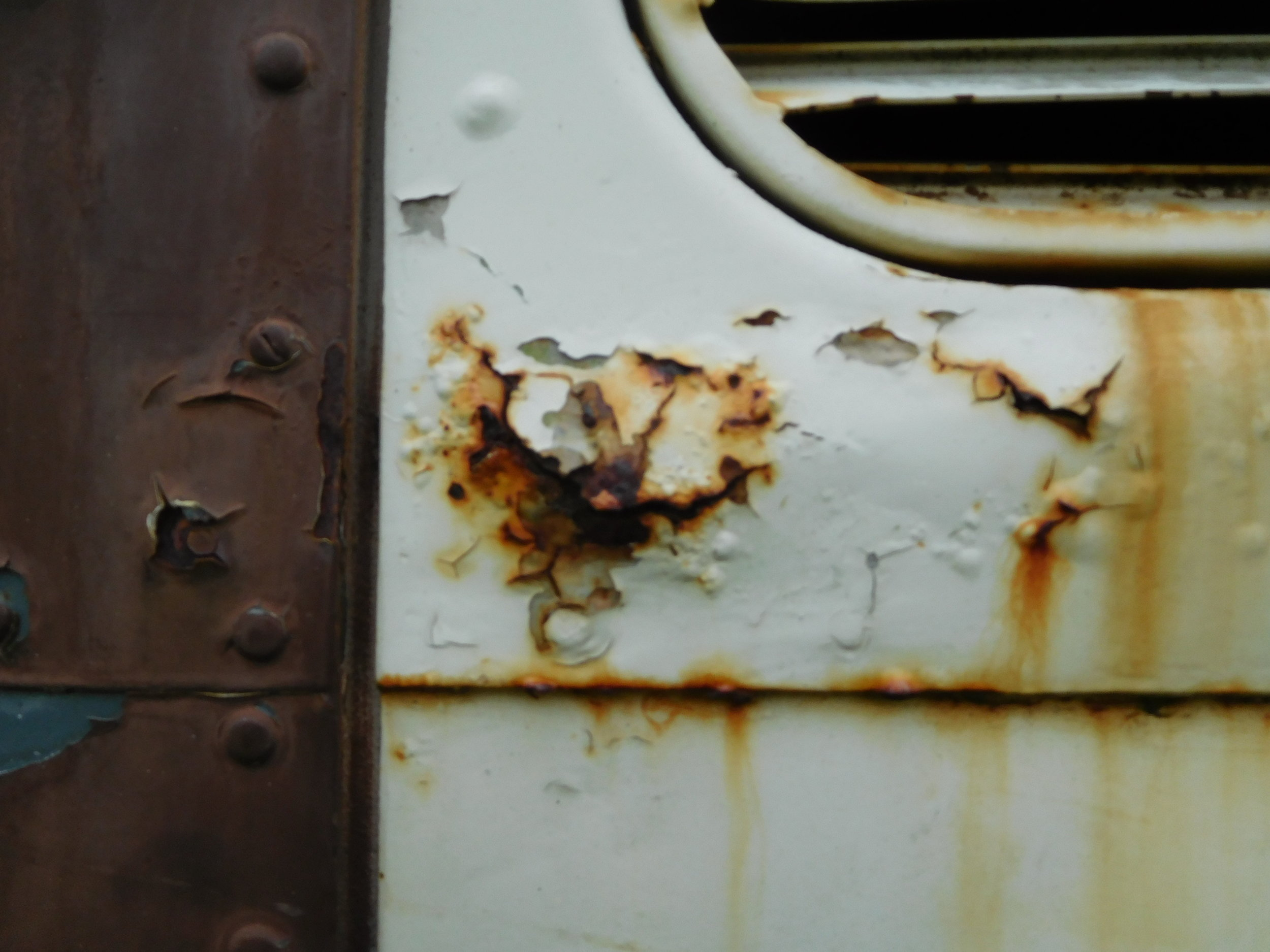 Baggage door, some places will need metal work