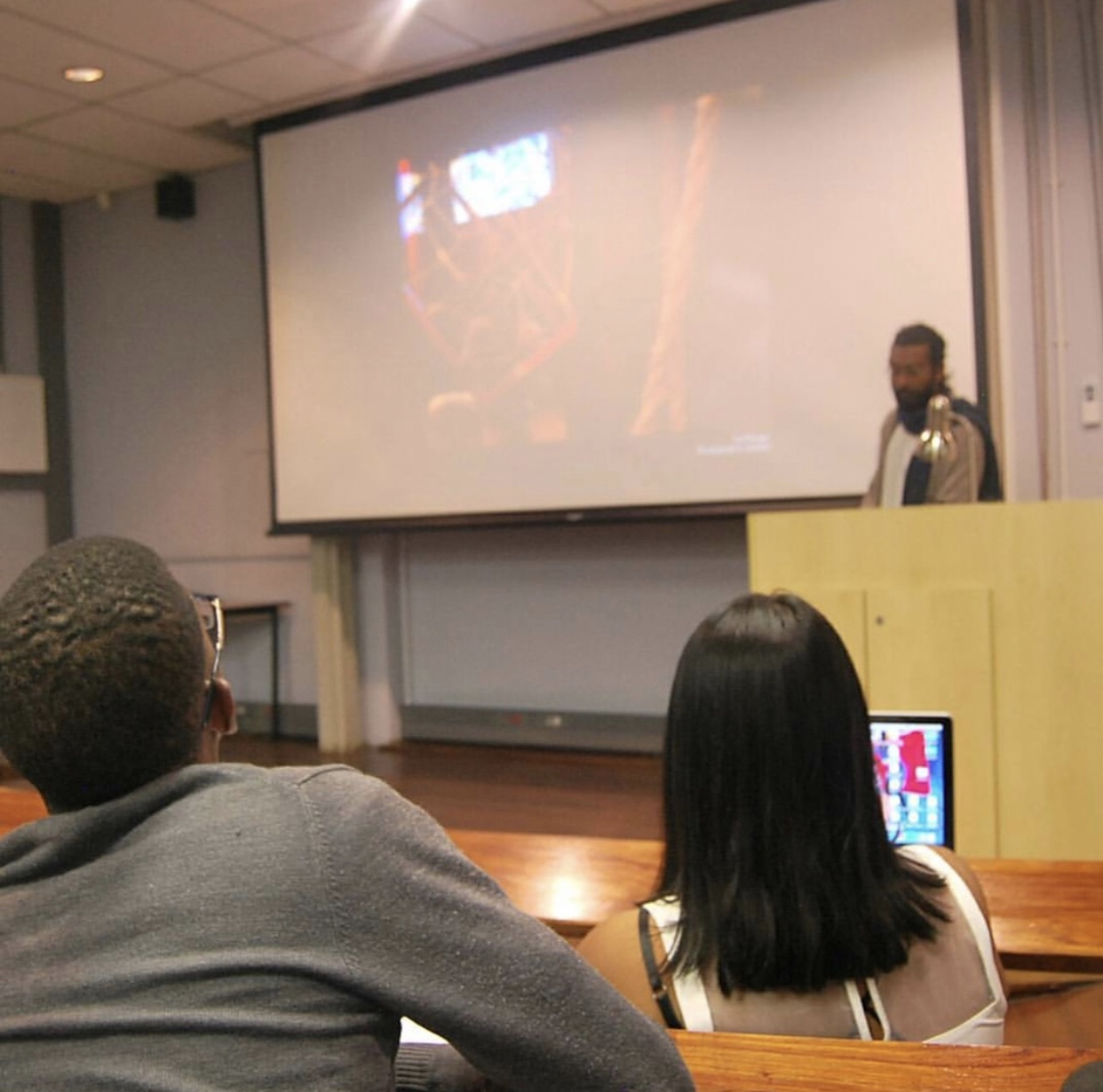 Artist talk at Wits School of Arts, Johannesburg, South Africa (October, 2017)