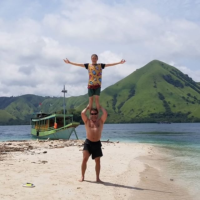 Father-son trip to Komodo.