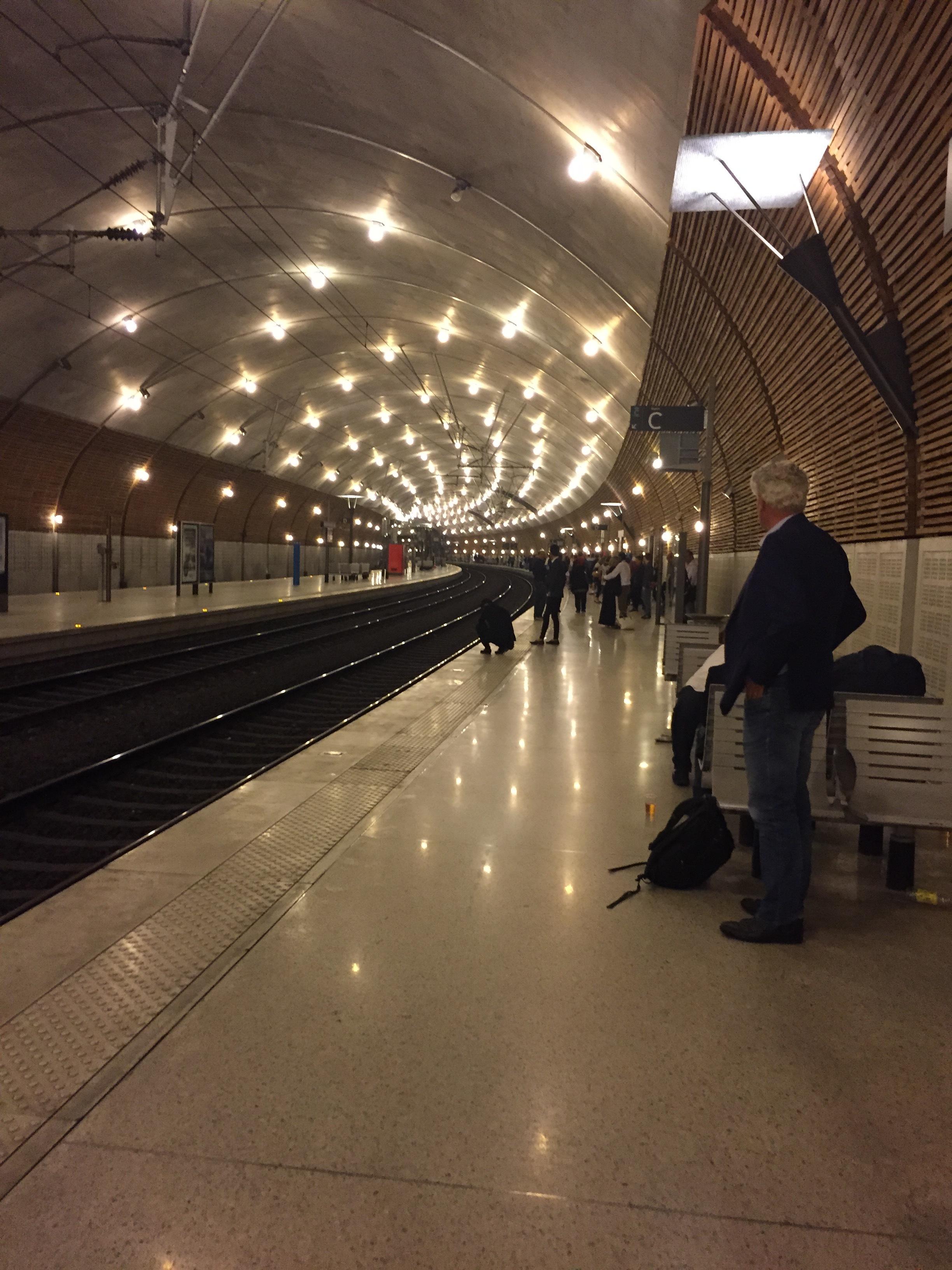 Monaco, somewhere underground